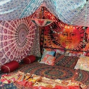 Hippie Bedroom 11
