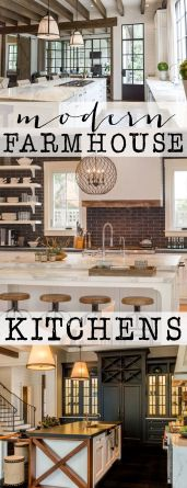 Modern Farmhouse Kitchen 30