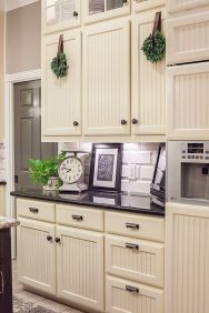 Wreaths On Kitchen Cabinet Doors14