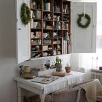 Wreaths On Kitchen Cabinet Doors15