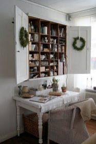 Wreaths On Kitchen Cabinet Doors15