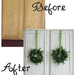 Wreaths On Kitchen Cabinet Doors8