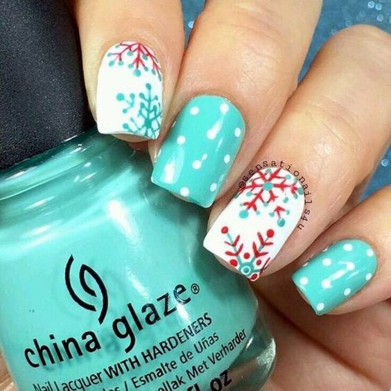 Nails Design Ideas for Christmas 3