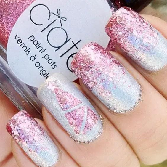 Nails Design Ideas for Christmas 4