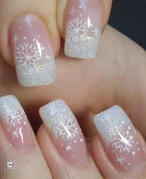 Nails Design Ideas for Christmas 6