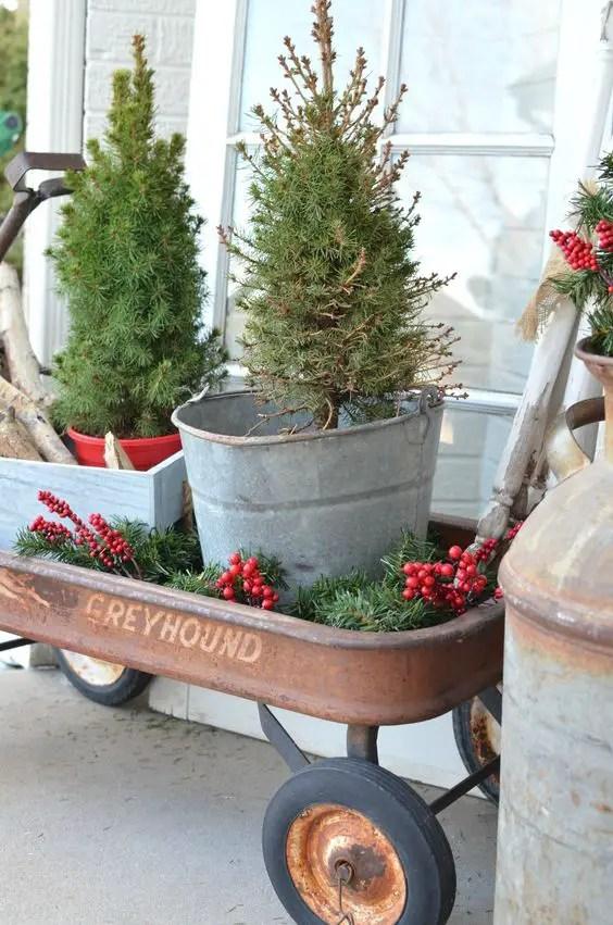 Rustic Christmas Decor 10