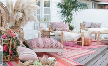 Bohemian Patio Ideas 10