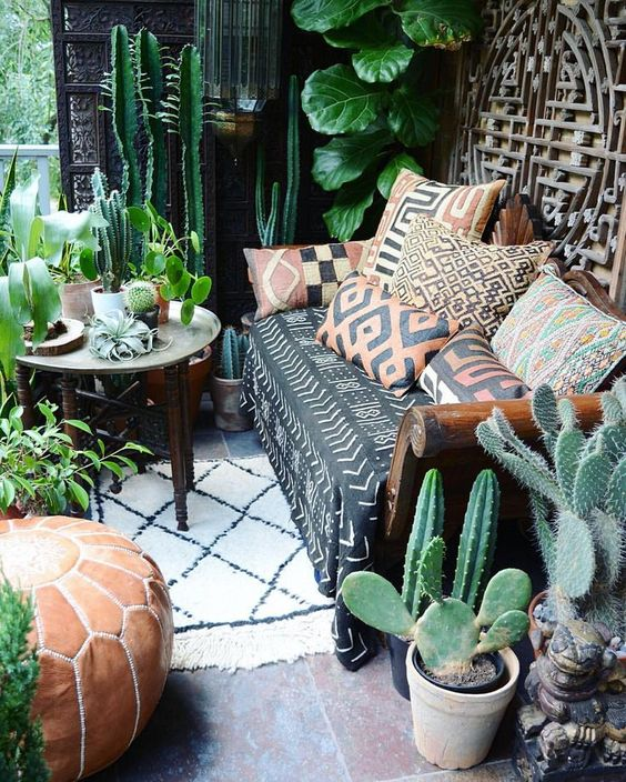 Bohemian Patio Ideas 4