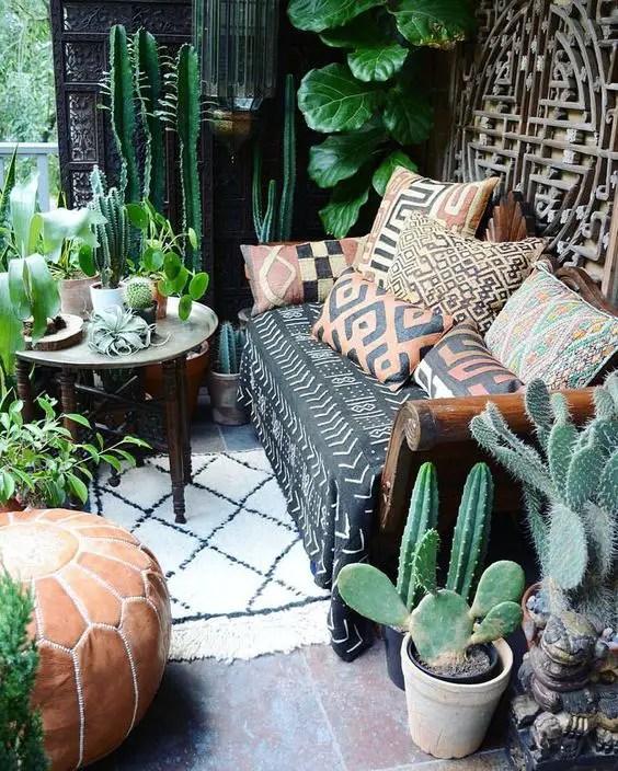 Bohemian Patio Ideas 4