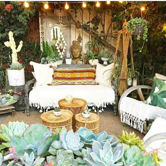Bohemian Patio Ideas 7