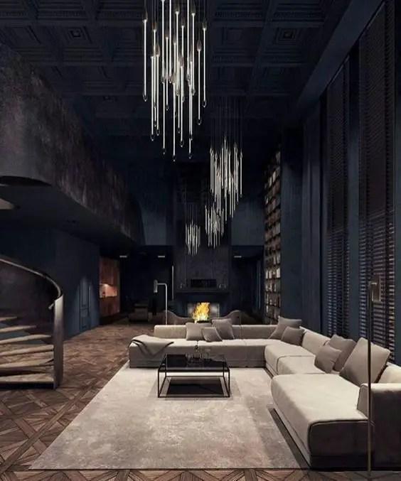 Gothic Furniture Set For Living Room 2