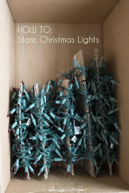 Christmas Decoration Storage 2