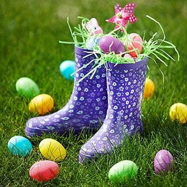 Rain Boot Easter Basket 13 Result