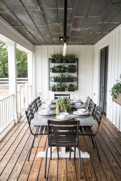 Farmhouse Landscaping Porches