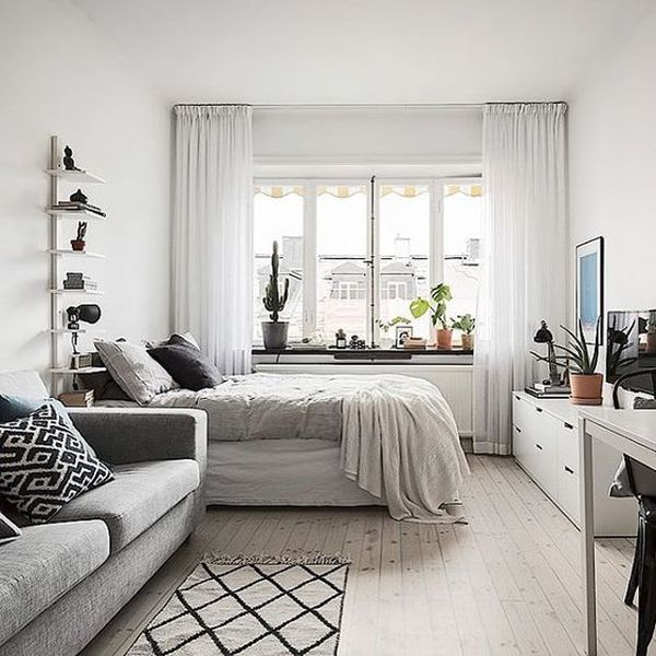 Studio Apartment: 18 Coolest Studio Apartment Layout
