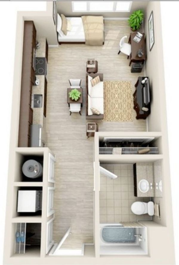 One Room Apartment 4 Result