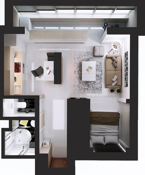 One Room Apartment 5 Result