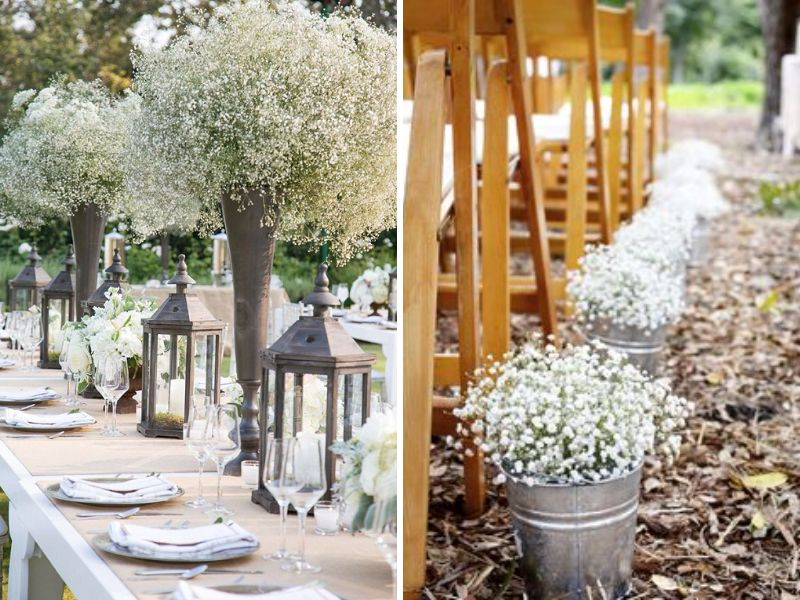 Aisles As Garden Bed Wedding Decorations Ideas