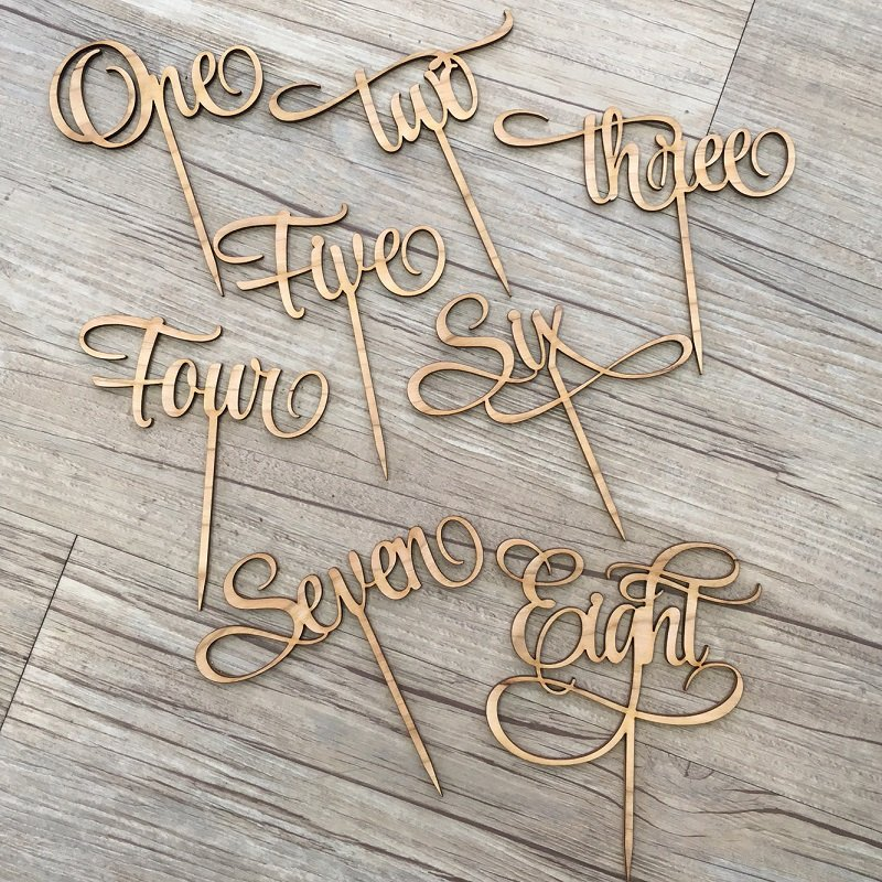 Laser Cut Fabric Wedding Decor