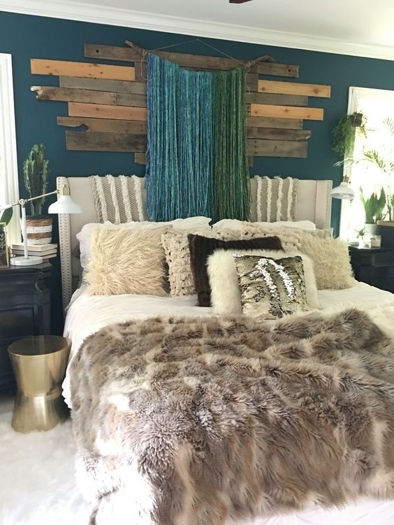 12 Beautiful Inspired Boho Bedroom Decorating On A Budget ... on Bohemian Bedroom Ideas On A Budget  id=79490