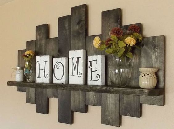 Nice 11 Inspired Rustic Wall Decor Ideas That Easy But Beautiful