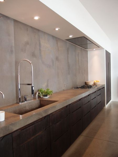 8 Cement Kitchen Wall