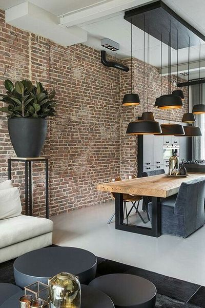 9 Kitchen Brick Wall