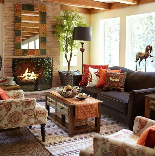 Fall Inviting Living Room