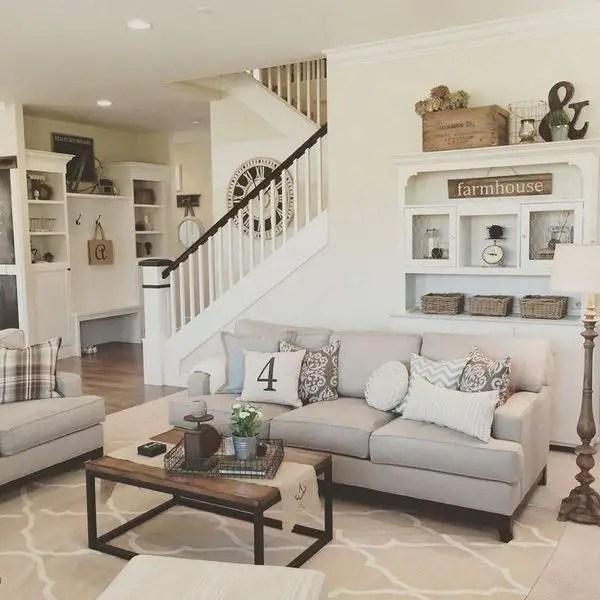 Elegant Farmhouse Living Room Decor