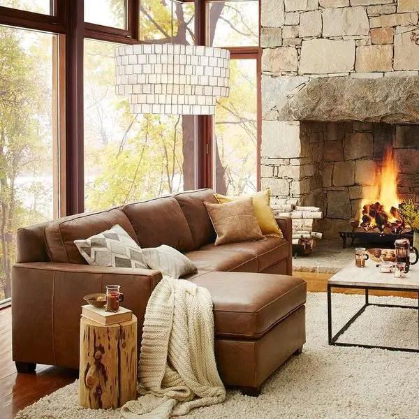 Modern Fall Living Room