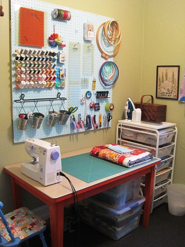 Craft Room Ideas 1