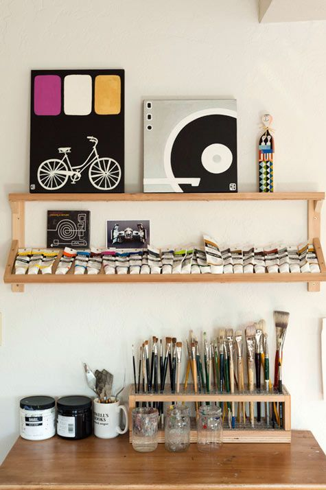 Craft Room Ideas 34