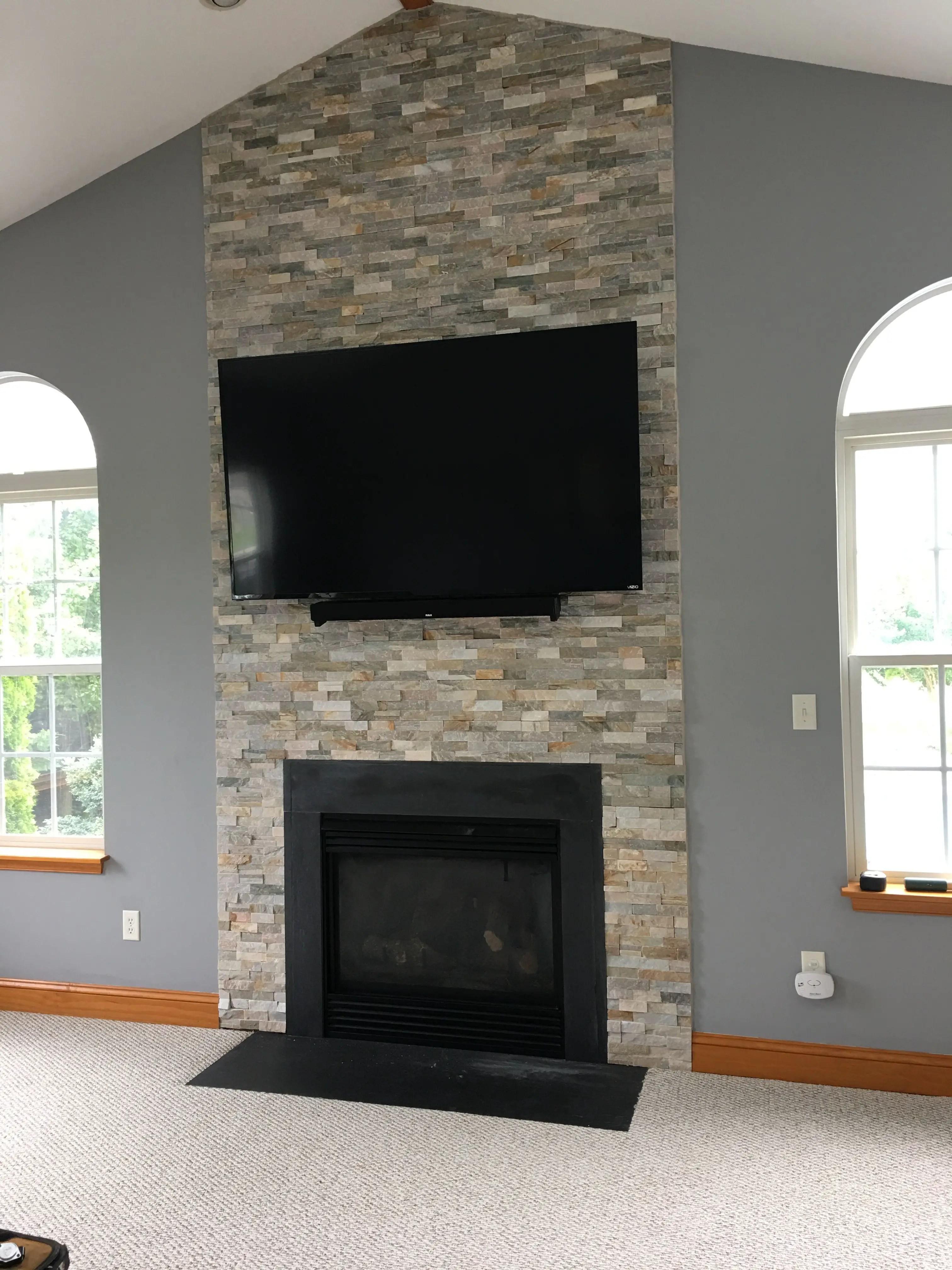 Diy Fireplace 4
