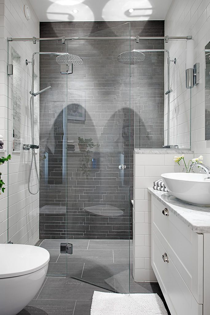 Small Master Bathroom 6