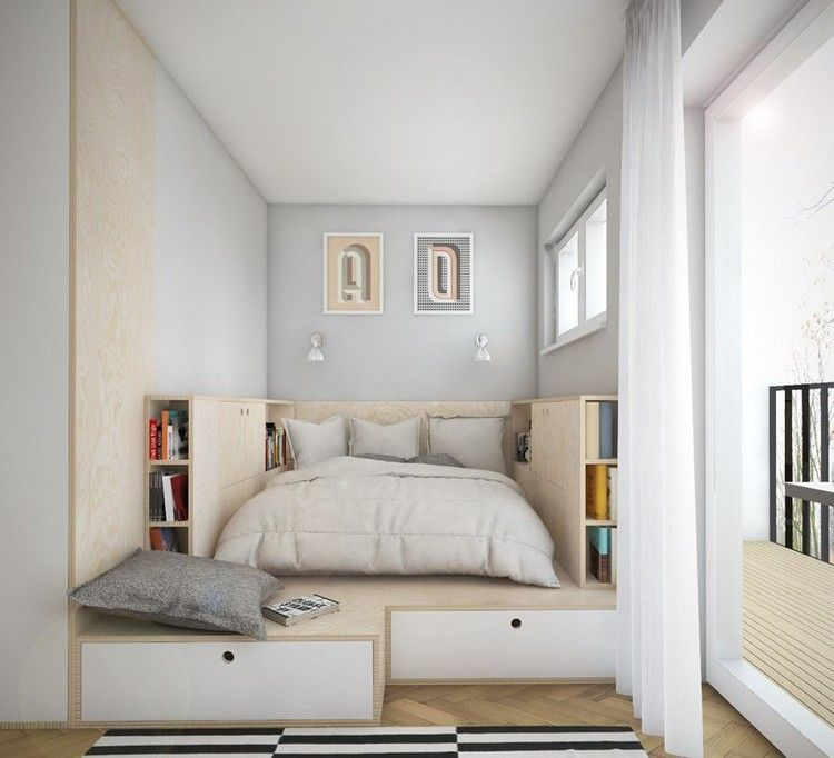 Small Spaces Bedroom 6