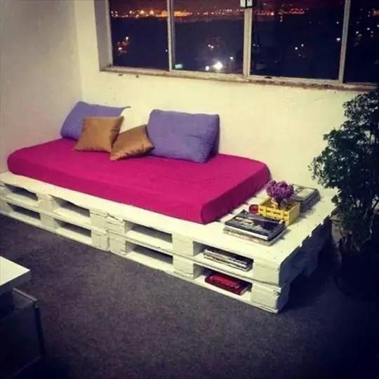 Wooden Pallets Sofa 19