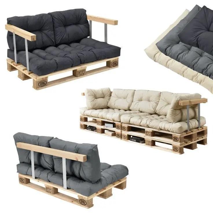 Wooden Pallets Sofa 20