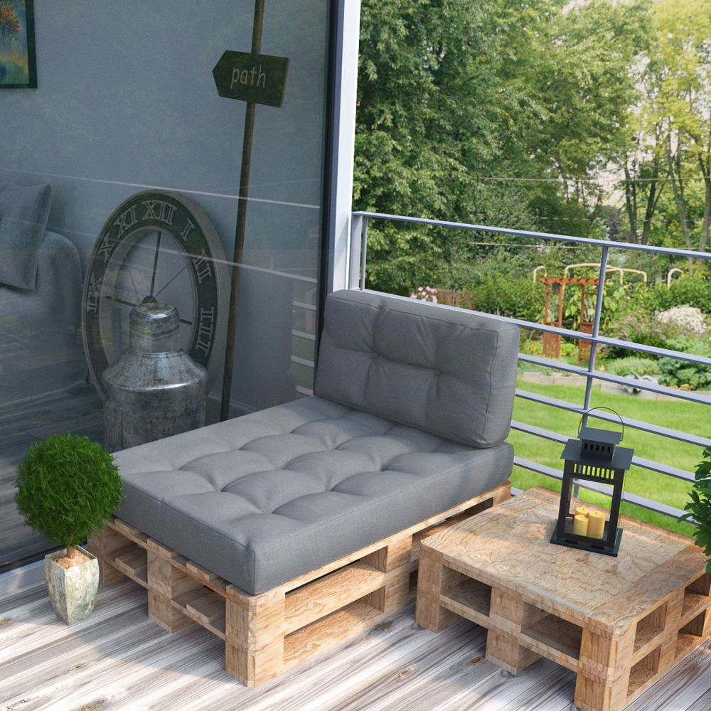 Wooden Pallets Sofa 4