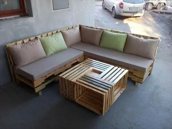 Wooden Pallets Sofa 5