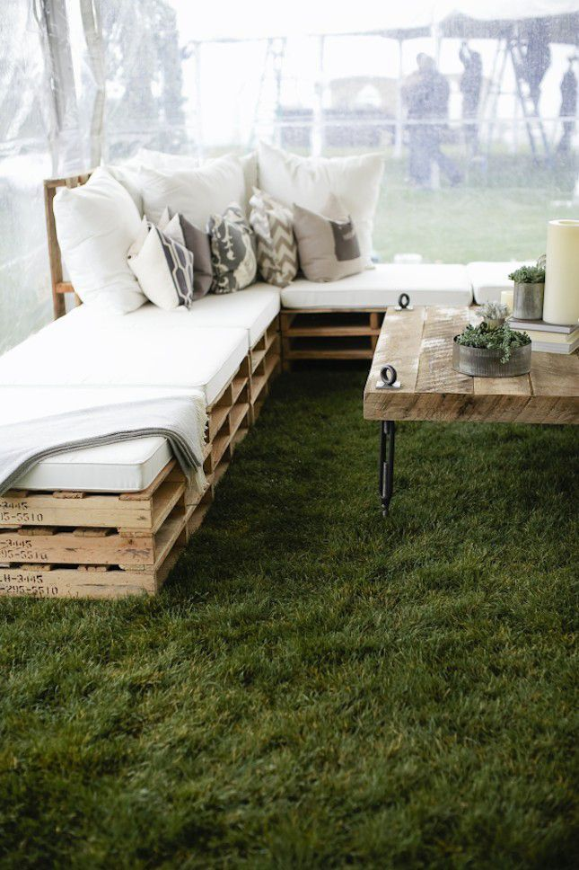 Wooden Pallets Sofa 6