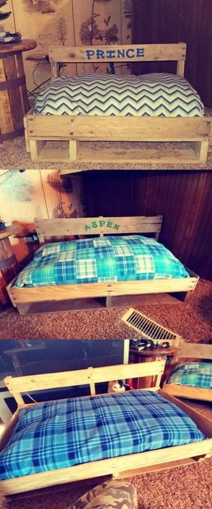 Pallet Dog Beds 13