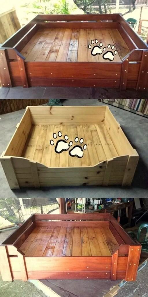 Pallet Dog Beds 21
