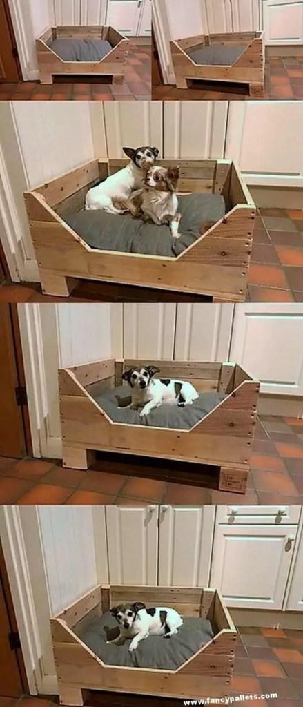 Pallet Dog Beds 29