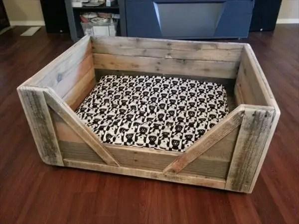 Pallet Dog Beds 5