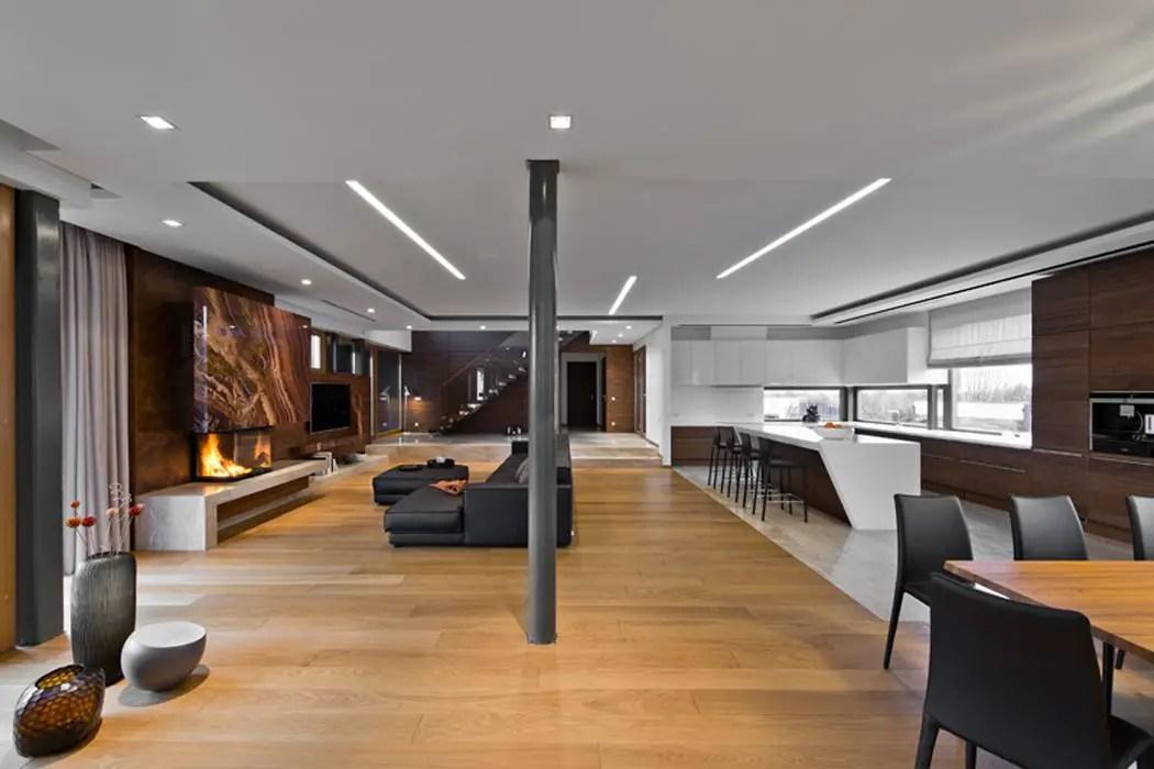 The Luxury and elegance Interior Design of House In Vilnius