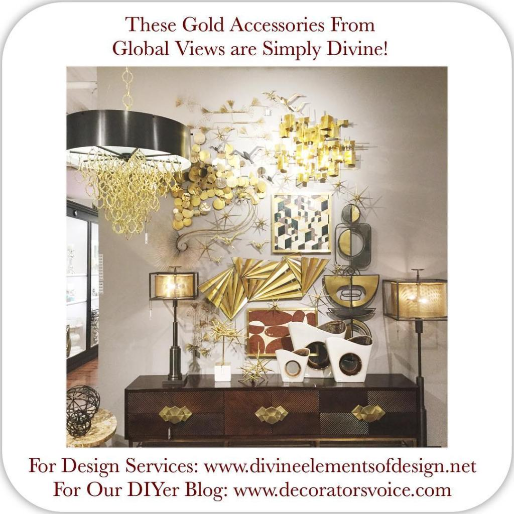 Check out these beautiful gold decor accessories from globalviews onhellip