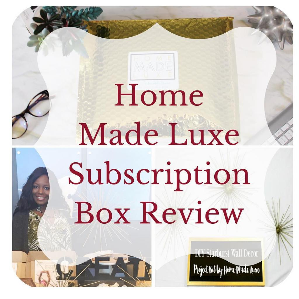 Check out my latest DIYHome Decor subscription box review fromhellip