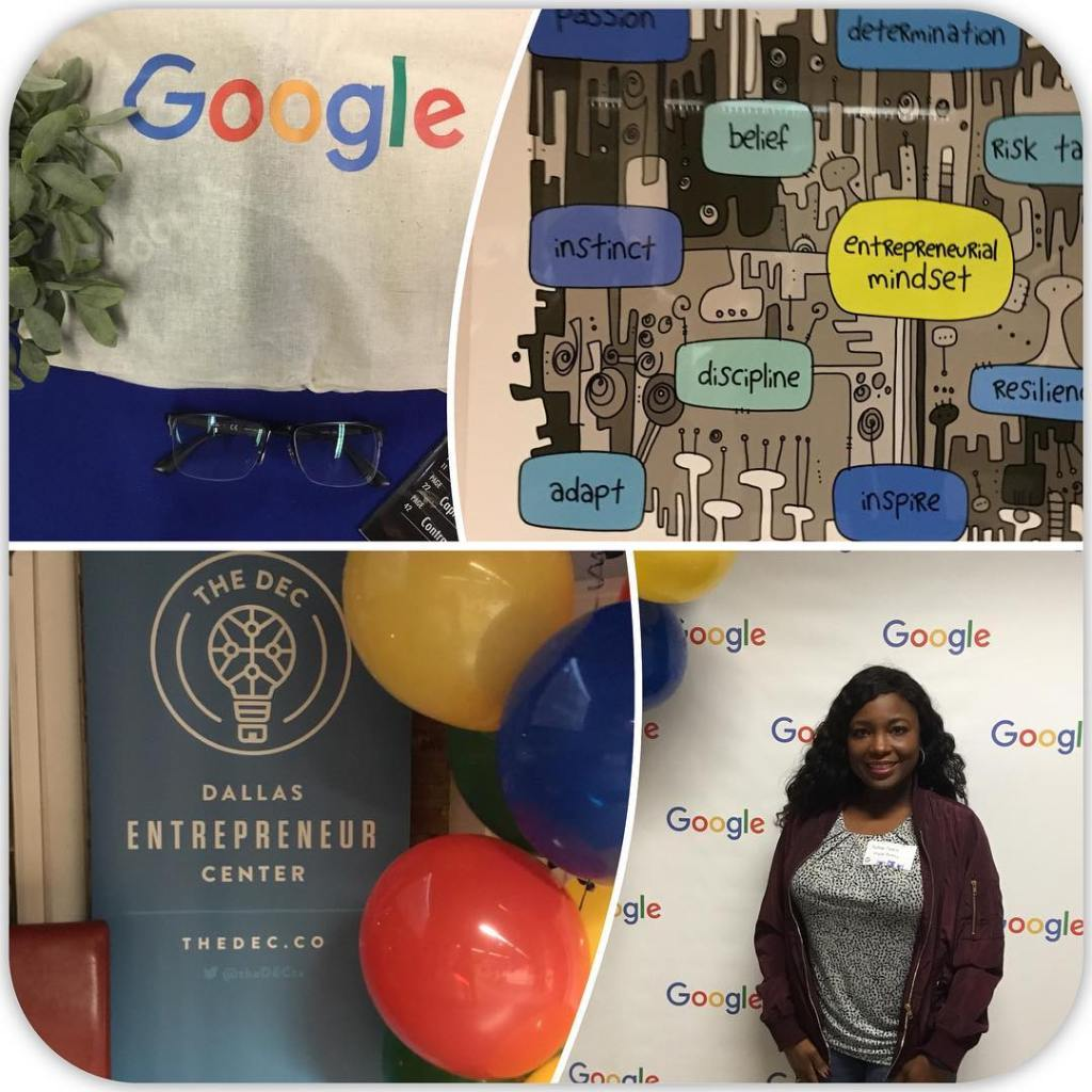 Attending the launch event for googlecommunitydfw How Divine!!  hellip