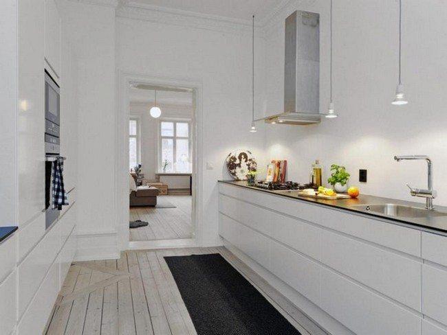 Gray And White Kitchen Decor