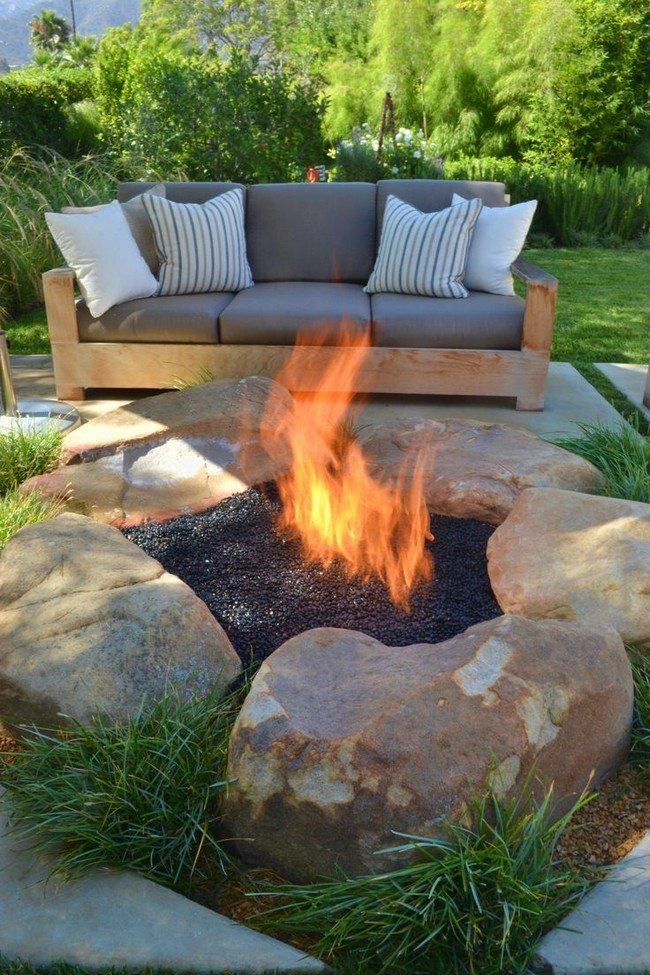 Inspiration For Backyard Fire Pit Designs Decor Around The World